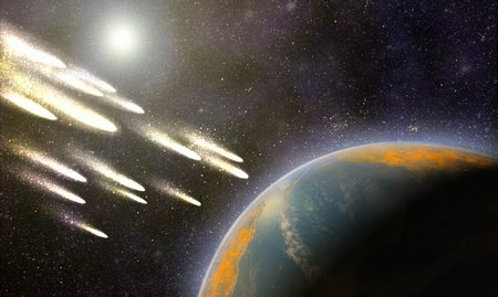 Bombardment of the Early Earth / Exogenesis