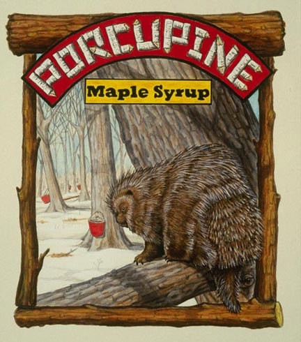 Porcupine Maple Syrup