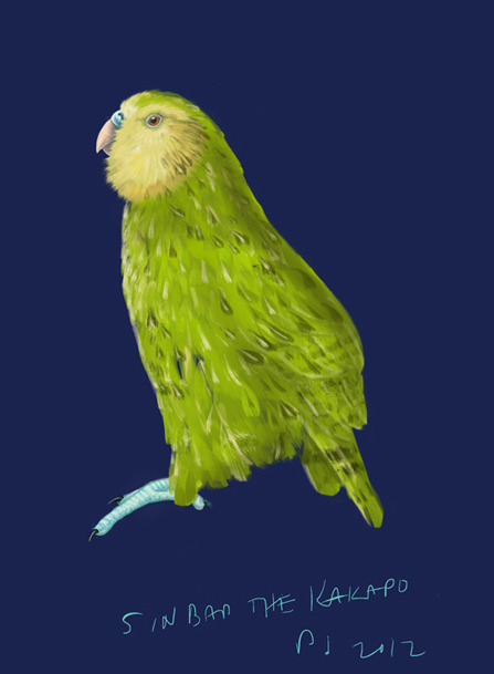 Sinbad the Kakapo