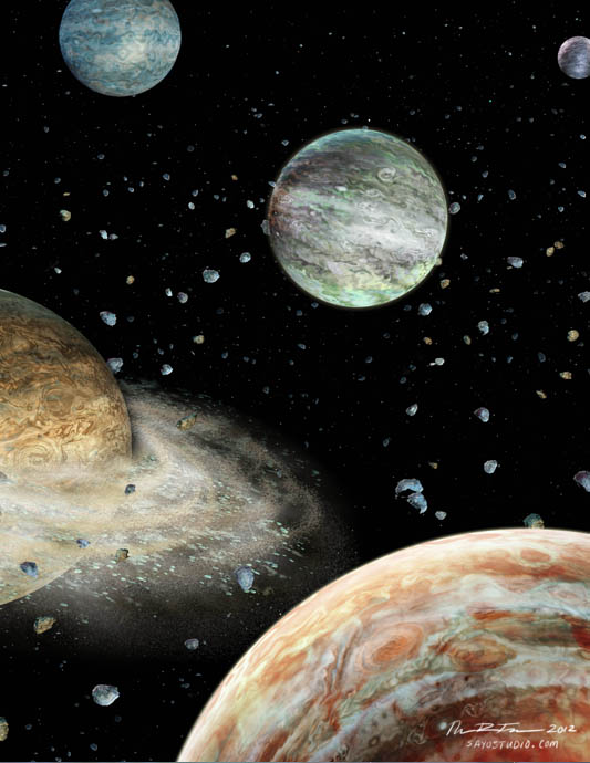 The Early Solar System&#39;s 5th Planet