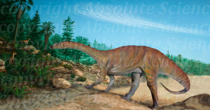 Sauropod of the Triassic