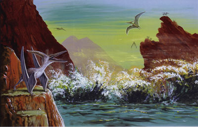 Cretaceous seascape