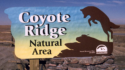 Coyote Ridge Sign
