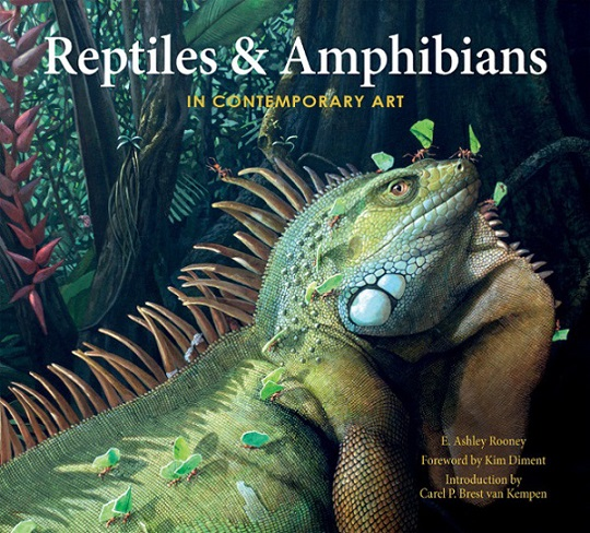 Book Cover: Reptiles & Amphibians in Art