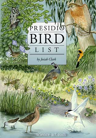 Cover for bird list publication
