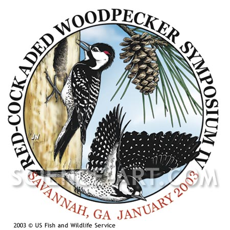 Red-cockaded Woodpecker logo