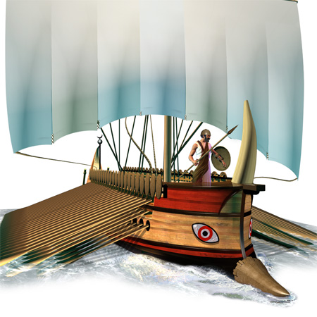 Phonecian Trireme